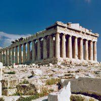 Partenon i Akropolis w Atenach