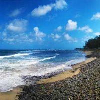 Plaże południowego wybrzeża Mauritiusa