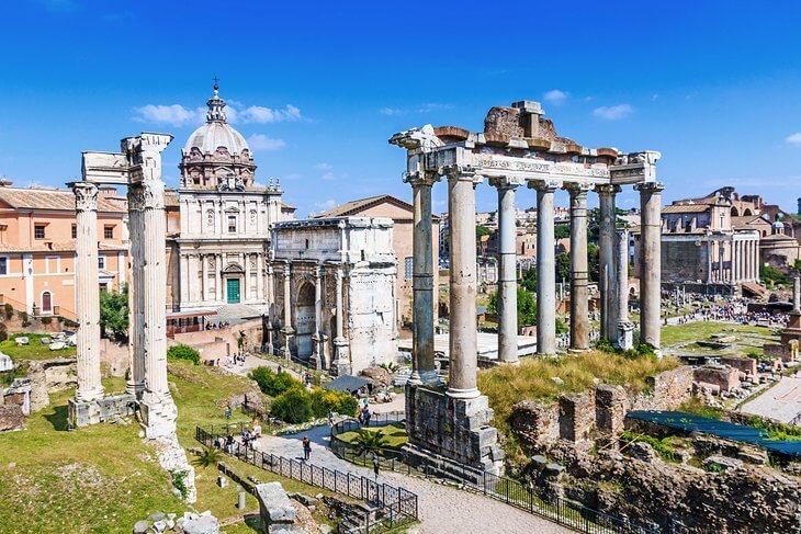 Forum Romanum bilety do koloseum
